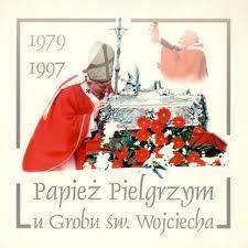 Papież u grobu Wojciecha