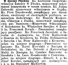 dobecki_GazŚw_1904_zmiany_wikariuszy_a
